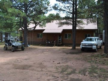 Forest Lakes cabin rental - 1 Acre Lot plenty of parking!