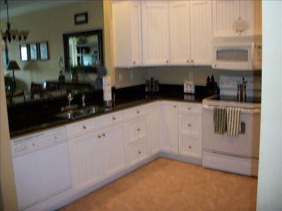 "Large user-friendly kitchen for cooking your ""catch of the day""!"