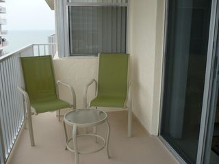Fort Myers Beach condo photo - Lounge on the balcony with your morning coffee