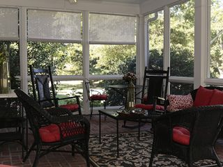 Oxford house photo - Screened porch overlooking Trippe Creek