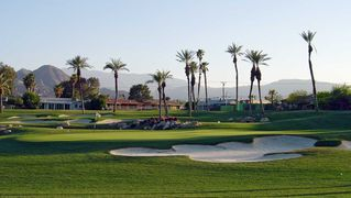 Palm Desert house photo - Chip, putt and practice your short game by walking out of the back yard gate.