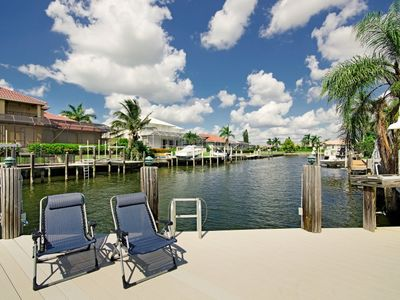 Vacation Homes in Marco Island house rental - Fantastic Fishing from our Dock Complete with Fishing Station