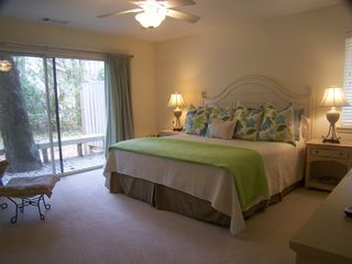 Sea Pines house photo - Roomy, completely comfortable Master Bedroom