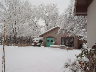 Albuquerque house photo - Rare Snow Storm at the Casita