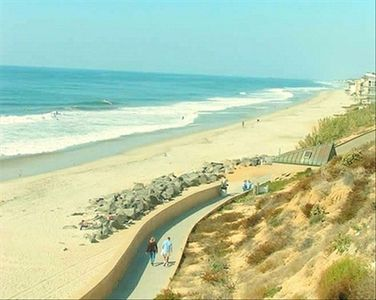 The Carlsbad Village coastline...Only A minute away!