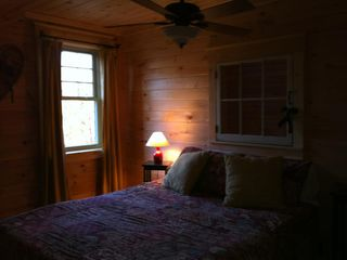 Jay Peak cabin photo - 2nd floor with queen bed