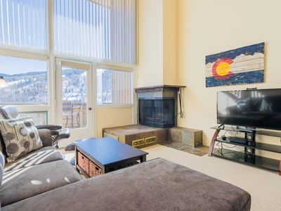 1BR, 1BA Vail Loft Near Year-Round Attractions with Mountain Views