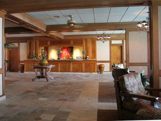Lahaina condo photo - You'll enjoy the gorgeous lobby in Hawaiian Decor