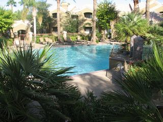 Scottsdale North condo photo - Resort style pool area.
