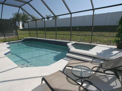 Windsor Palms villa rental - The swimming pool