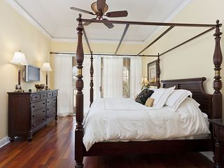 Palm Coast house photo - Surround yourself in luxury in the master bedroom.