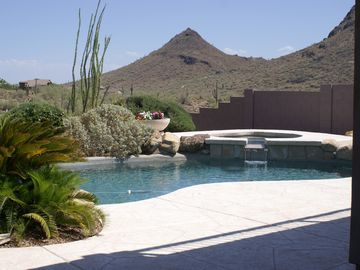 Other Scottsdale Properties house rental - View from patio