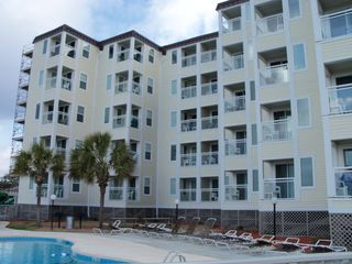 Windy Hill condo photo - Ocean front side of the building