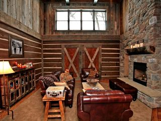 Sundance cabin photo - Rustic, luxury decor.