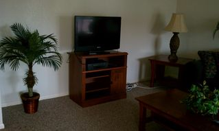 Corpus Christi condo photo - Flat screen t.v. in living area