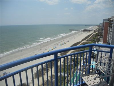 Oceanfront Balcony view south