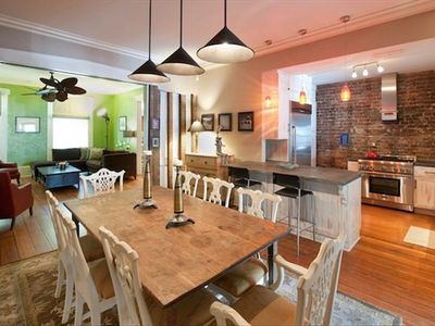 Open kitchen to dining areas - we can arrange local chefs or cooking lessons