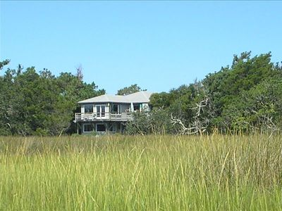 Total privacy with marsh views with wildlife