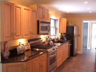 Alburg estate photo - Spacious Chef's Kitchen- Stainless Steel Applinaces.