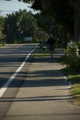Sanibel Island cottage photo - Sanibel's famous 21 mile bike/walk path is right outside our door