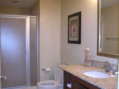 Second Bathroom in this Splash Condo Panama City Beach