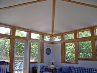 Chilmark house photo - wonderful architectural details abound in this designer home