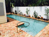 Poolside @ Pineapple Grove! Brand new this season! Steps to the Ave and Beaches