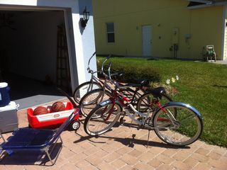 New Smyrna Beach house photo - Bikes for the beach.