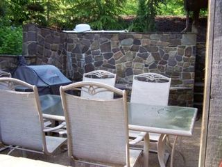 Stone Porch Right Off the Kitchen - Harrisonburg house vacation rental photo