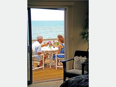 Owners Suite has private deck great to enjoy your favorite beverage