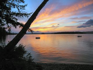 Wolfeboro cottage photo - Sunset again