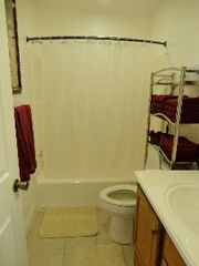 Gulfport house photo - Hall Bathroom, some items still to be added, like decorative shower curtain
