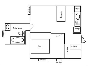 Floor Plan of Apartment
