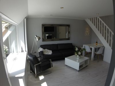 80 meters to the beach, maisonette 60sqm newly renovated, 3 bedrooms, TG balcony, Wi-Fi