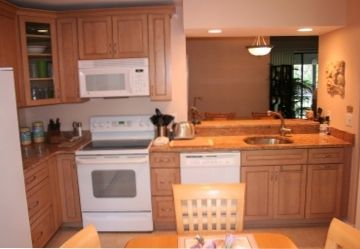 Kitchen -newly remodeled cabinets & graniite countertops
