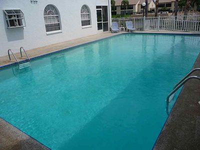 Cape Coral apartment rental - Whoever has already heated the pool 15 x 7 m