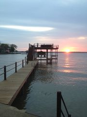 Cedar Creek Lake house photo - Sunset