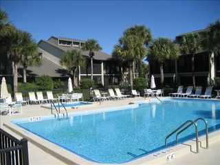 St. Augustine Beach condo photo - Let's go Swimming: Las Palmas pool