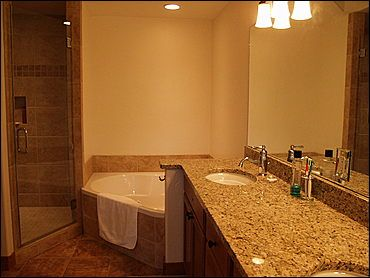 Master Bath - His/Hers sinks, Granite