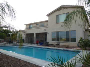 Litchfield Park house rental - The new pool is complete! 32 X 16