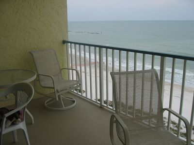 Apollo condo rental - Private balcony-no other balconies in front