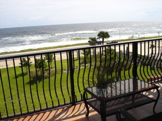 Flagler Beach condo photo - Sip morning coffee from your own private Balcony