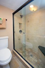 Sanibel Island condo photo - Walk in master bathroom shower