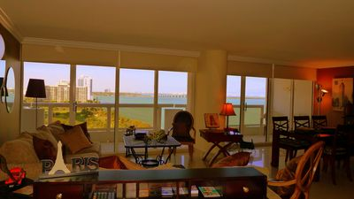 Miami, The Grand : Margaret Pace Park and Biscayne Bay view. Vacation rental