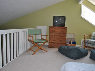 Bald Head Island condo photo - second floor loft bedroom has full bed