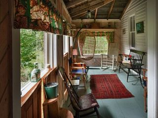 Lamoine lodge photo - .Southern Porch