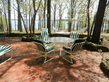Greers Ferry Lake house rental - Lake from patio