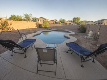 San Tan Valley house rental - Relax by the pool!