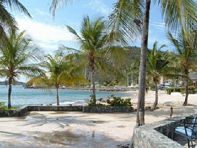 East End condo rental - Tropical Landscaping at Sapphire Beach