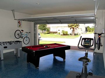Games & Fitness Room for everyone!